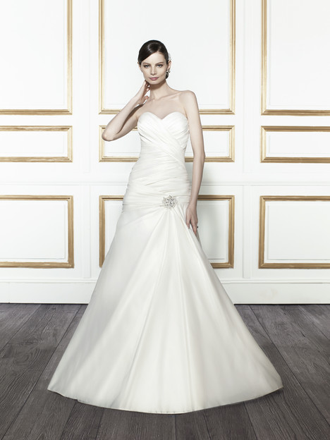 T668 gown from the 2015 Moonlight : Tango collection, as seen on Bride.Canada
