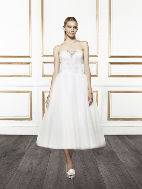 T669 gown from the 2015 Moonlight : Tango collection, as seen on Bride.Canada