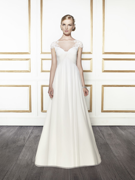 T670 gown from the 2015 Moonlight : Tango collection, as seen on Bride.Canada
