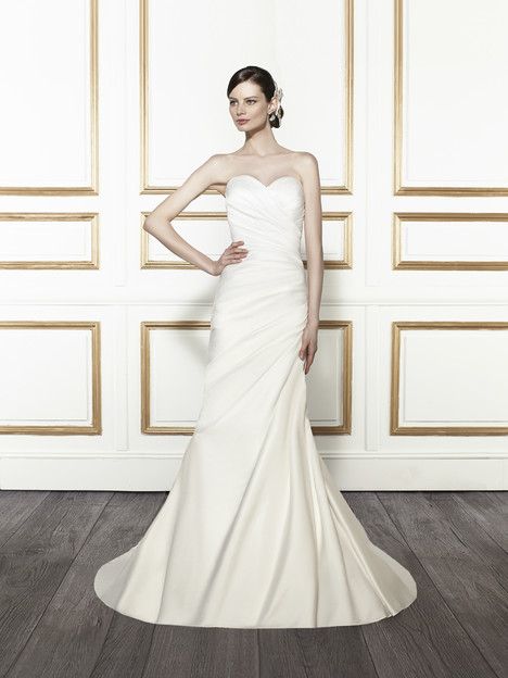 T671 gown from the 2015 Moonlight : Tango collection, as seen on Bride.Canada