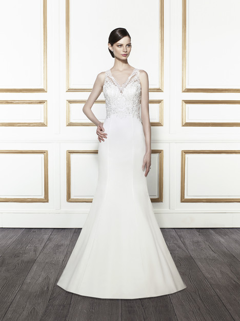 T672 gown from the 2015 Moonlight : Tango collection, as seen on Bride.Canada