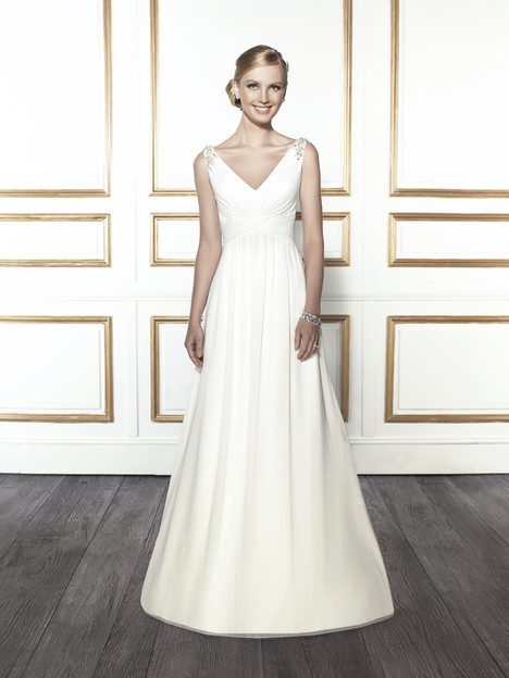 T675 (white) gown from the 2015 Moonlight : Tango collection, as seen on Bride.Canada
