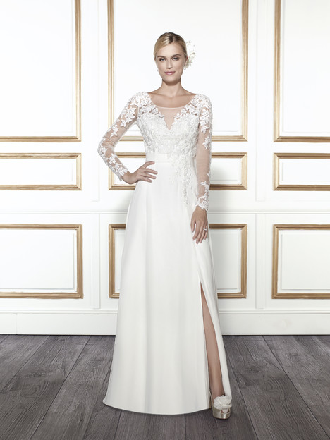 T678 gown from the 2015 Moonlight : Tango collection, as seen on Bride.Canada