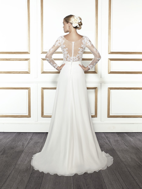 T678 (back) gown from the 2015 Moonlight : Tango collection, as seen on Bride.Canada