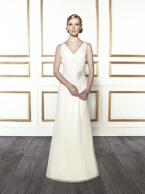 T679 gown from the 2015 Moonlight : Tango collection, as seen on Bride.Canada