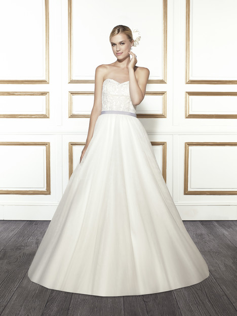 T681 gown from the 2015 Moonlight : Tango collection, as seen on Bride.Canada