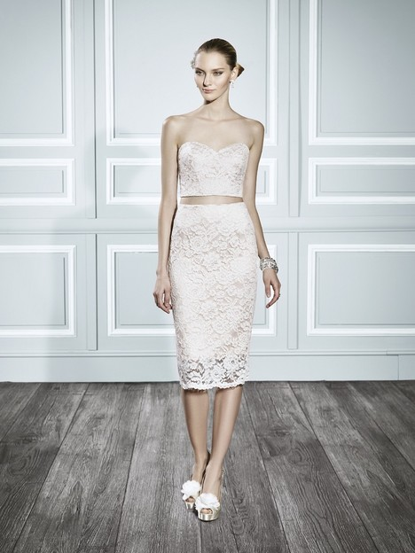 T691 gown from the 2015 Moonlight : Tango collection, as seen on Bride.Canada