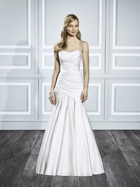 T695 gown from the 2015 Moonlight : Tango collection, as seen on Bride.Canada