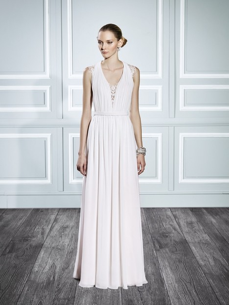 T696 gown from the 2015 Moonlight : Tango collection, as seen on Bride.Canada