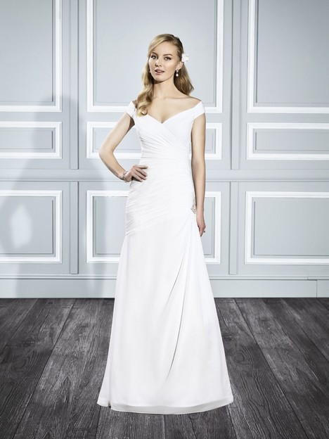 T699 gown from the 2015 Moonlight : Tango collection, as seen on Bride.Canada