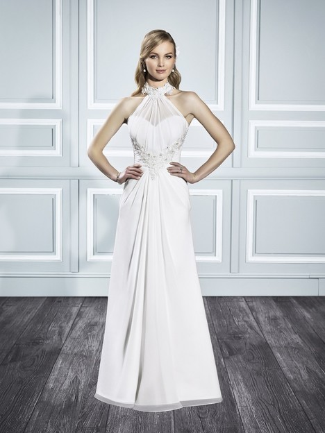 T701 gown from the 2015 Moonlight : Tango collection, as seen on Bride.Canada