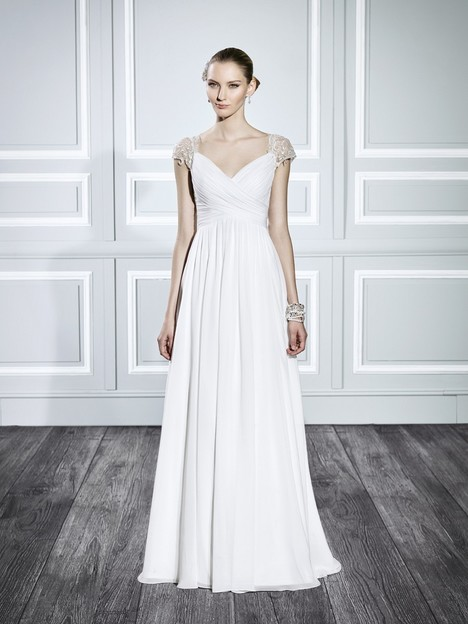 T702 gown from the 2015 Moonlight : Tango collection, as seen on Bride.Canada