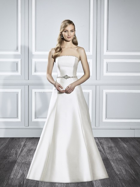 T704 gown from the 2015 Moonlight : Tango collection, as seen on Bride.Canada