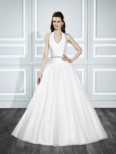 T705 gown from the 2015 Moonlight : Tango collection, as seen on Bride.Canada