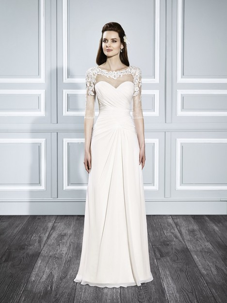 T706 gown from the 2015 Moonlight : Tango collection, as seen on Bride.Canada