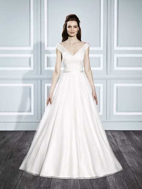 T709 gown from the 2015 Moonlight : Tango collection, as seen on Bride.Canada