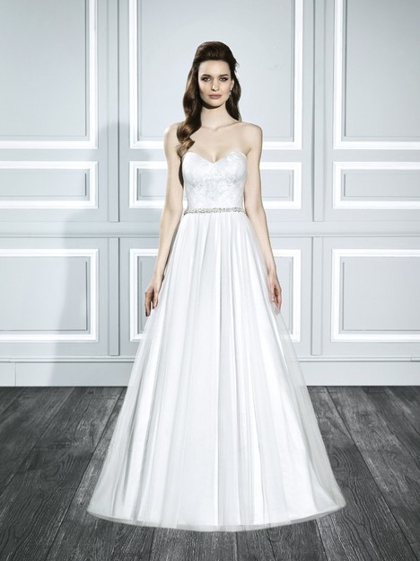 T711 gown from the 2015 Moonlight : Tango collection, as seen on Bride.Canada