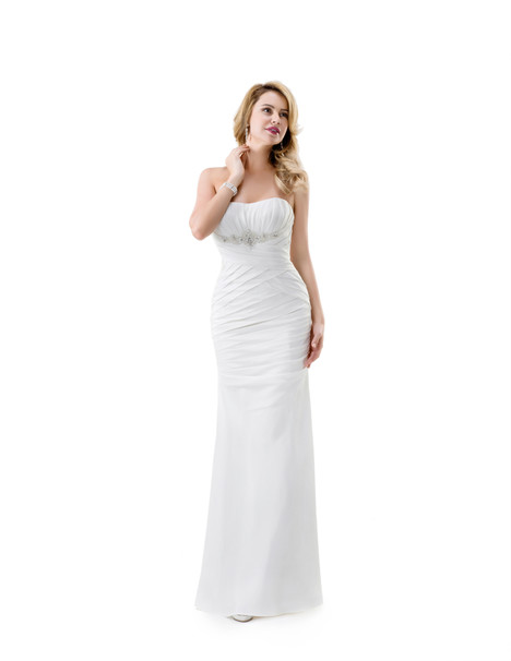 VN6857 gown from the 2015 Venus Bridal collection, as seen on Bride.Canada
