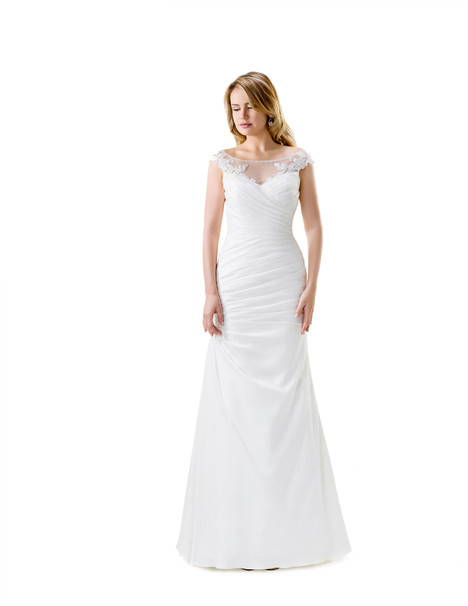VN6858 gown from the 2015 Venus Bridal collection, as seen on Bride.Canada