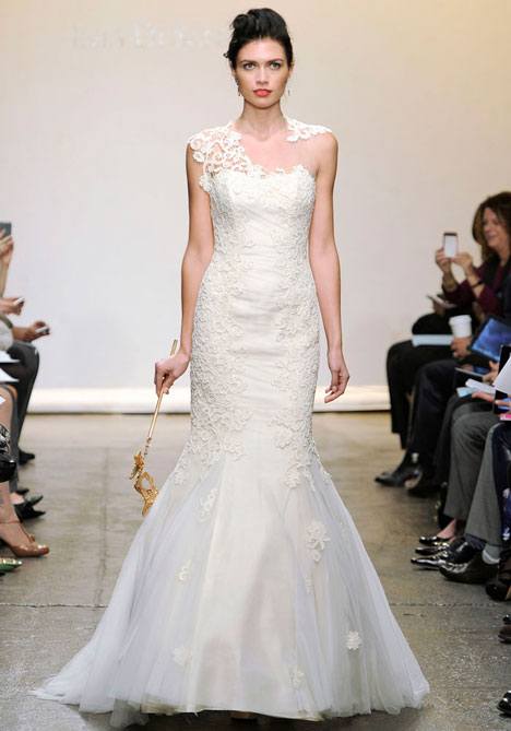 Marghera gown from the 2013 Ines Di Santo collection, as seen on Bride.Canada