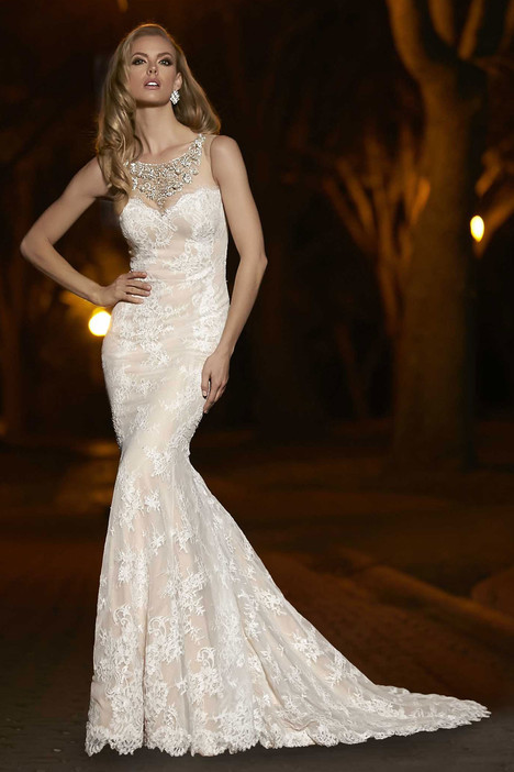 90241 gown from the 2015 Simone Carvalli collection, as seen on Bride.Canada
