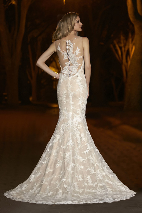 90241 (back) gown from the 2015 Simone Carvalli collection, as seen on Bride.Canada