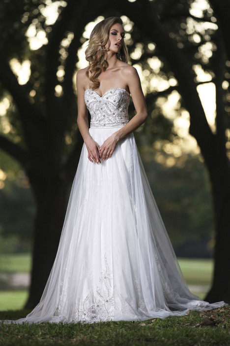 90250 + Overskirt gown from the 2015 Simone Carvalli collection, as seen on Bride.Canada