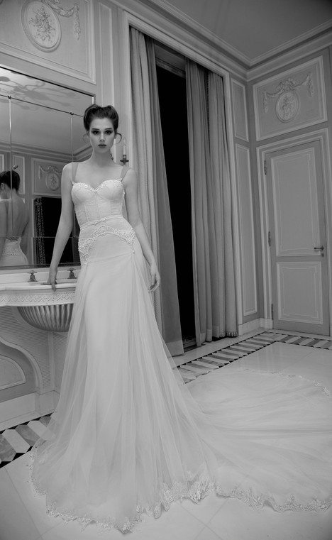 BR-13-16 gown from the 2013 Inbal Dror collection, as seen on Bride.Canada