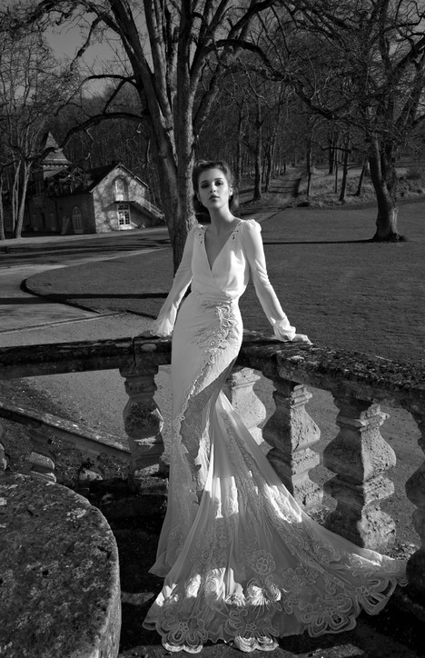 BR-13-25 gown from the 2013 Inbal Dror collection, as seen on Bride.Canada