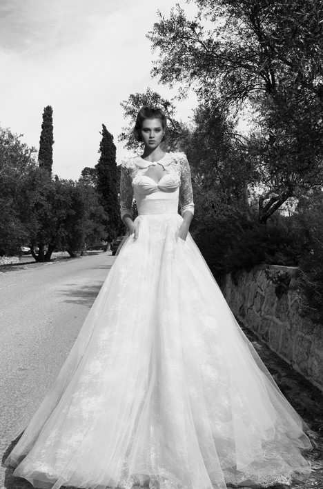 BR-13-9 + Jacket gown from the 2013 Inbal Dror collection, as seen on Bride.Canada