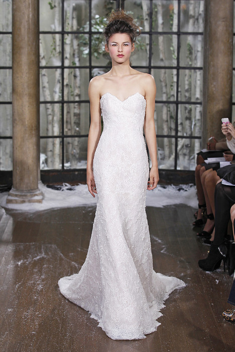 Berlin gown from the 2015 Ines Di Santo collection, as seen on Bride.Canada