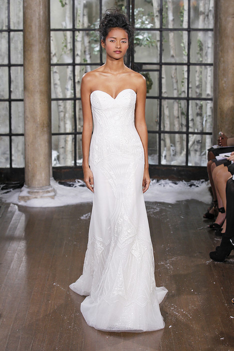 Varna gown from the 2015 Ines Di Santo collection, as seen on Bride.Canada