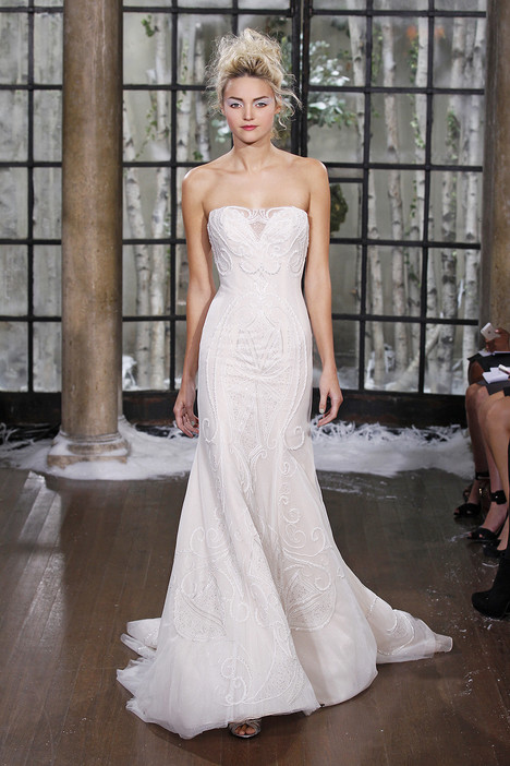 Zabize gown from the 2015 Ines Di Santo collection, as seen on Bride.Canada
