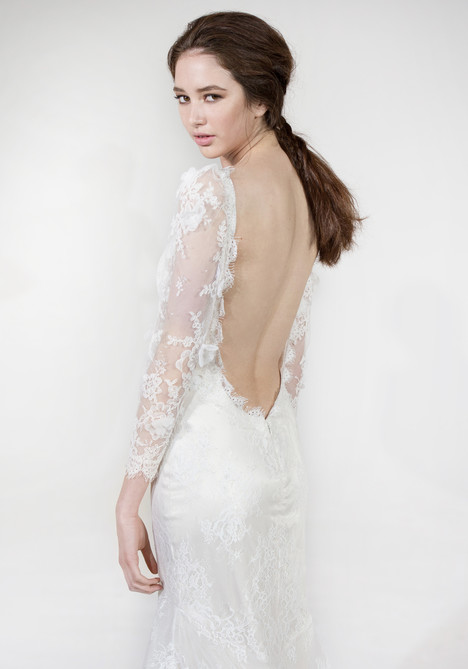 Maybelle (back) gown from the 2016 Claire Pettibone: Couture collection, as seen on Bride.Canada