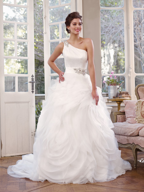 M1300L gown from the 2013 Mia Solano collection, as seen on Bride.Canada