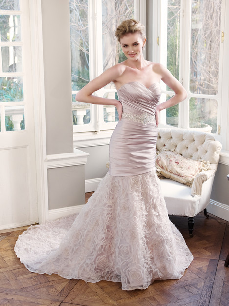 M1303L gown from the 2013 Mia Solano collection, as seen on Bride.Canada