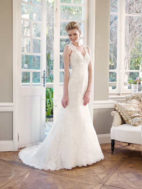 M1330Z gown from the 2013 Mia Solano collection, as seen on Bride.Canada