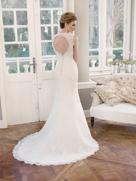 M1330Z (back) gown from the 2013 Mia Solano collection, as seen on Bride.Canada