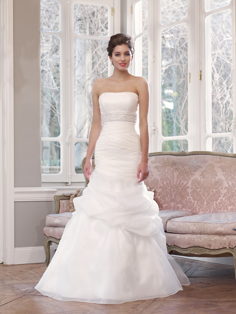 M1342L gown from the 2013 Mia Solano collection, as seen on Bride.Canada