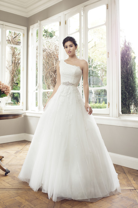 M1401L gown from the 2014 Mia Solano collection, as seen on Bride.Canada