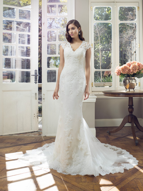 M1403Z gown from the 2014 Mia Solano collection, as seen on Bride.Canada