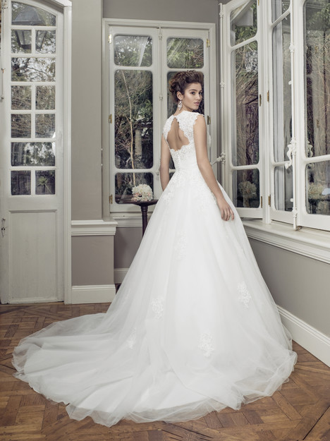 M1408Z (back) gown from the 2014 Mia Solano collection, as seen on Bride.Canada