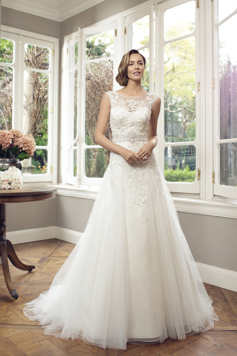 M1410Z gown from the 2014 Mia Solano collection, as seen on Bride.Canada