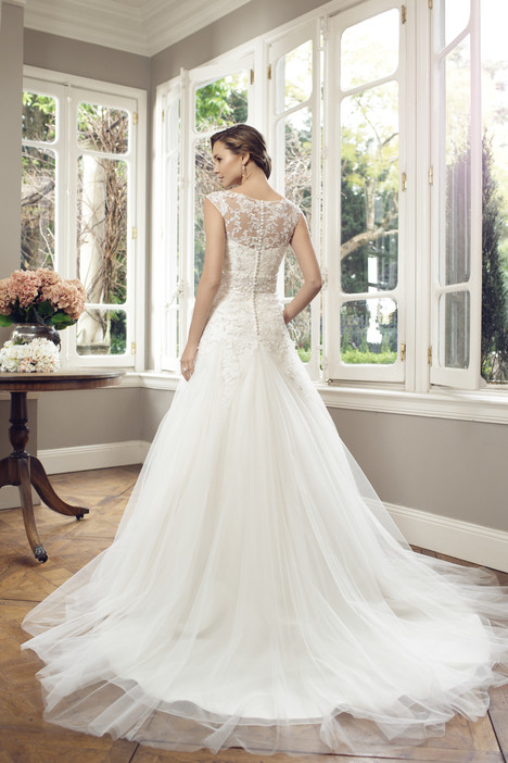 M1410Z (back) gown from the 2014 Mia Solano collection, as seen on Bride.Canada