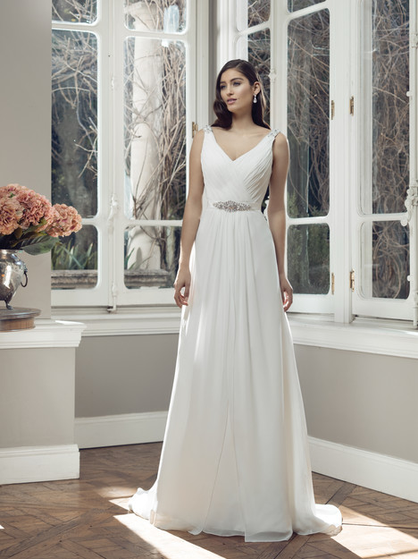 M1414Z gown from the 2014 Mia Solano collection, as seen on Bride.Canada