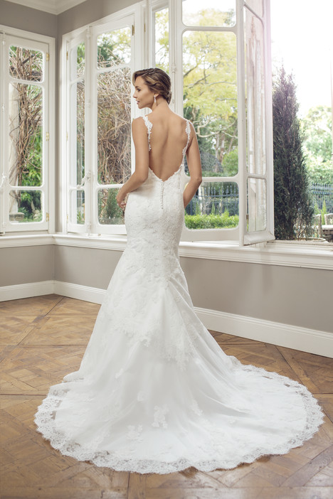 M1422Z (back) gown from the 2014 Mia Solano collection, as seen on Bride.Canada