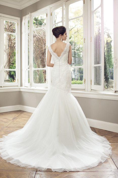 M1425Z (back) gown from the 2014 Mia Solano collection, as seen on Bride.Canada