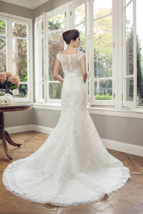 M1430Z (back) gown from the 2014 Mia Solano collection, as seen on Bride.Canada