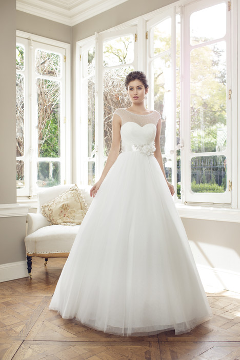 M1447Z gown from the 2014 Mia Solano collection, as seen on Bride.Canada