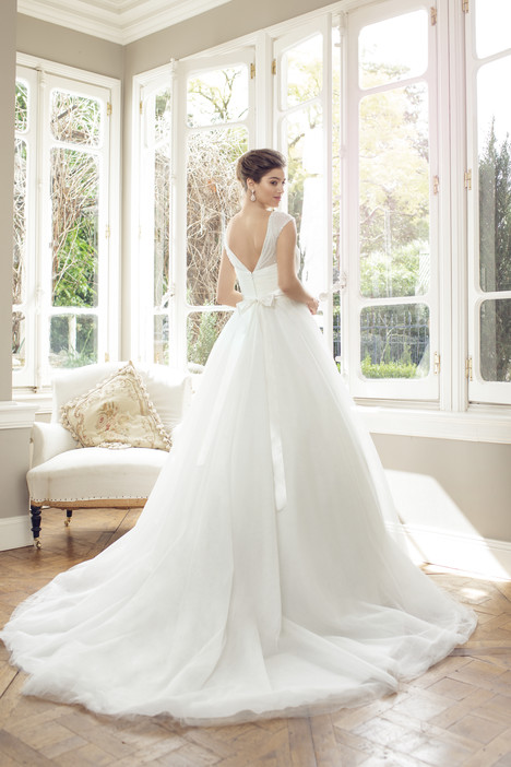 M1447Z (back) gown from the 2014 Mia Solano collection, as seen on Bride.Canada